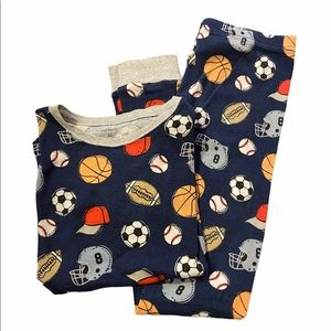 Boy's Carter's Pajama Set Size 12